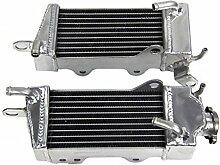 Gowe Racing Aluminium Motor Kühler Teile Zubehör Motorrad Kühlung Radiator für Honda CR250CR 250CR250R 198484