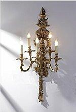 Gowe Retro Vintage kupfer Wand Lampen für Wand, Wand montiert Lichter für Bar Club Wohnzimmer Schlafzimmer perfekt mit Edison Leuchtmittel