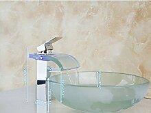 Gowe rund Malerei Badezimmer Waschbecken