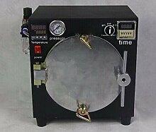Gowe schwarz Mini hohe Druck Autoklaven OCA selbstklebend Aufkleber LCD Bubble entfernen Maschine für Glas Renovieren + Air Kompressor