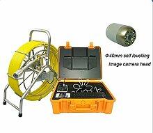 Gowe Survey Industrie-Werkzeuge Farbe CMOS Rohr Inspektionskamera für Underground Abwasser und Drainage