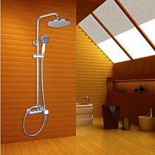 Gowe Wand montiert Badezimmer Badewanne Handbrause-Armatur Messing Badewanne Chrom Spüle, Wasserhähne, Armaturen & Wasserhähne