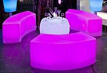 Gowe Wasserdicht Glowing bogenförmiges Schlange Stühle Kombination Wohnzimmer Sofa LED Bar Möbel Explosion Modelle Verkauf Bar Hocker