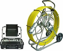 Gowe Wasserdicht IP68Pan Tilt 360Grad drehbar Kanalisation Ablauf Kameras Rohr Inspektion Roboter Sensor Größe: 1/10,2cm; horizontale Auflösung: 600TVL; Signal System: PAL