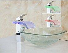 Gowe Wasserfall quadratische Transparente