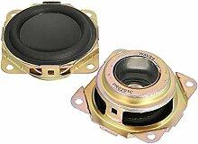 GOZAR 2 Stücke Schwarz Passiv Radiator Lautsprecher Auxiliary Bass Lautsprecher