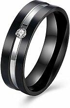 GOZAR Zircon Kristall Frauen Mem Paar Geschenk Ring Edelstahl einzigartige Schmuck für Hochzeit - Mann - 7