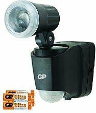 GP Safeguard Außenleuchte mit Bewegungsmelder und