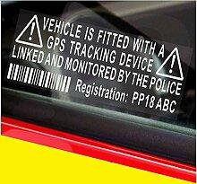 GPS personalisierte Aufkleber Tracker Polizei