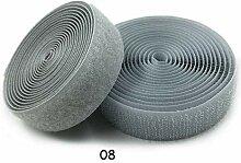 GQDZ 20mm 2meters Paar Bunte Velcros anhaftende