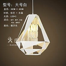 GQLB Die Rekonstruierten zu handhaben die alte Bügeleisen Kronleuchter aus Kristall Restaurant Lichter Leiter Wohnzimmer Light Bar leuchte