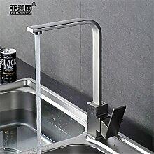 GQLB Küchenarmaturen 304 Edelstahl Waschbecken
