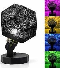 GQNLY Star Master Projektor LED Nachtlicht, 360