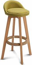 GQY Barhocker Hochstuhl Esstisch Und Stühle Holz