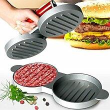 GR8 Home Doppel-Hamburger Beef Burger Quarter