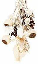 Grabschmuck-Sortiment, weiß-natur, 21 Teile