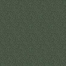 Graceful Living 6626 Vlies-Tapete Landhaus Blumen Vogel Motiv dunkel-grün