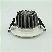Grade LED-Lampe Deckenleuchte Gießen COB Freizeithalle 16cm 20W Universalspannung,White-4000K