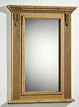 Gradel Spiegel Alina mit Holzrahmen weiß deckend