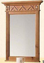 Gradel Spiegel Gloria mit Holzrahmen kadmiumgelb
