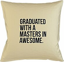 Graduated With A Masters In Awesome Kissenbezug Haus Sofa Bett Dekor Beige
