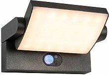 Grady LED  Solar Außenleuchte mit Bewegungsmelder