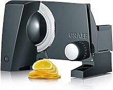 Graef S10002 Allesschneider, Metall, Schwarz