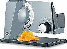 Graef S11000 Allesschneider, Metall, Grau