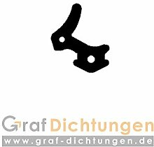 Graf Dichtungen SP5257 Dichtung für Veka oder Gealan Fenster, Schwarz