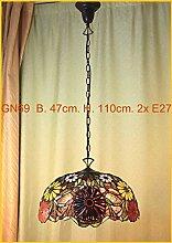 Graf von Gerlitzen Edel Tiffany Lampe Oval