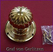 Graf von Gerlitzen Messing Tür Möbel Türgriffe