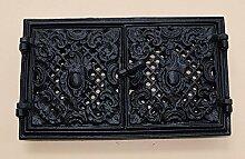 Graf von Gerlitzen Ofen Tür Türe Ofentür Ofentüre Kamin Kachelofen Lüftungsgitter Kamintüre Gründerzeit 2.Wahl M144