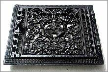 Graf von Gerlitzen Ofen Tür Türe Ofentür Ofentüre Kamin Kachelofen Lüftungsgitter Kamintüre M136