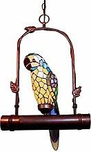 Graf von Gerlitzen Tiffany Büro Ara Papagei