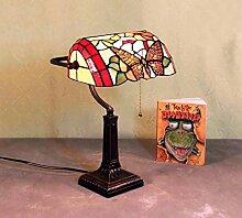 Graf von Gerlitzen Tiffany Stand Büro Tisch Lampe