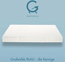 Grafenfels BLAU - Grafenfels.de - die Kernige - Taschenfederkern Matratze 160x200 cm