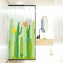 Graffiti Aufkleber Wand Kinderzimmer Tür Kaktus
