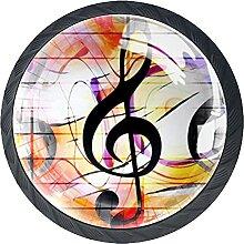 Graffiti Musik Musik gelb schwarz rosa Kunst,