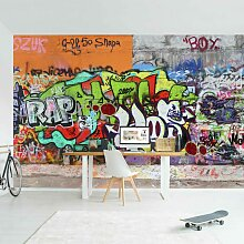 Graffiti Tapete - Graffiti Wall - Vlies Fototapete