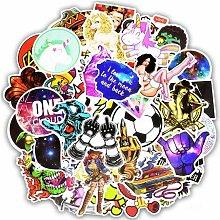 Graffiti zufällige Aufkleber gemischt Anime Rock