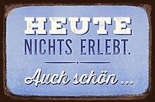Grafik-Werkstatt 60682 Wand-Schild   Vintage-Art  