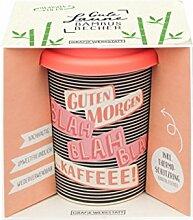 Grafik Werkstatt Bambus Kaffe-Becher |