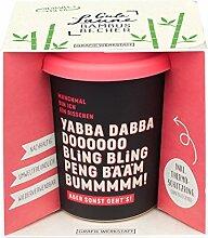 Grafik Werkstatt Bambus Kaffe-Becher  