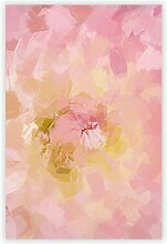 Grafikdruck Pink Dahlia Flower Big Box Art