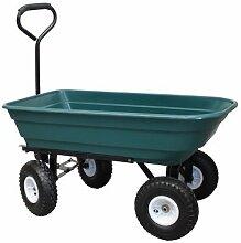 Grafner® 300 kg Gartenwagen Handwagen Transportwagen KIPPFUNKTION STABIL
