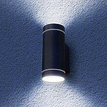 Grafner Aluminium Außenleuchte Wandlampe Up and