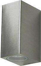 Grafner® Aluminium Außenleuchte Wandlampe Up and