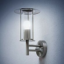 Grafner® Design Edelstahl Wandleuchte E27