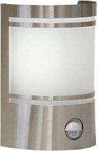 Grafner® Edelstahl Wandlampe mit Bewegungsmelder