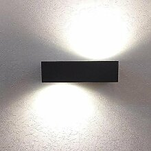 Grafner® LED Aluminium Wandlampe Up und Down